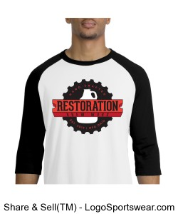 Baseball Jersey - RBW Large Front Logo Design Zoom
