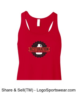 Red RBW Tank Top Design Zoom
